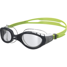 speedo Futura Biofuse Flexiseal Lunettes de protection, green/smoke